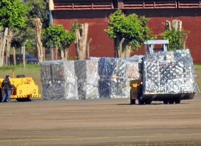 Robaron RECAUDACION de las COIMAS en el aeropuerto Guaraní..?
