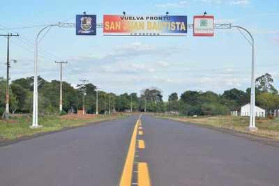 """Valoran pavimentación de la """"ruta del progreso"""" en San Juan Bautista"""