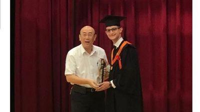 Ayolense aprendió chino y ahora es ingeniero por la Universidad Nacional de Taiwán