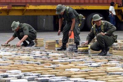 Colombia decomisa 4,9 toneladas de cocaína con destino a Turquía en cargamento de plástico