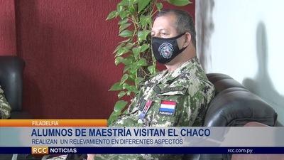 CURSANTES DEL INSTITUTO DE ALTOS ESTUDIOS ESTRATÉGICOS VISITAN VARIAS ZONAS DEL CHACO.