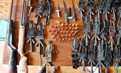 Guardias forestales de Itaipú hallan evidencias de caza furtiva