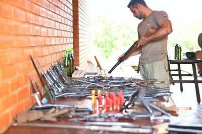 Guardias forestales hallan evidencias de caza furtiva en reservas naturales de Itaipu
