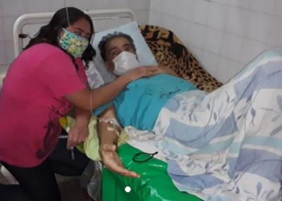 Emotiva boda: pareja se jura amor eterno en el hospital