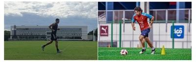 Olimpia y Cerro Porteño volvieron a los entrenamientos