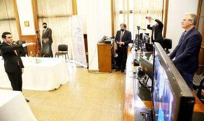 Presentan denuncia contra el diputado Hernán Rivas