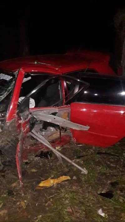 Aparatoso vuelco de vehículo en San José de los Arroyos – Prensa 5