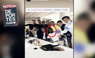 Futbolista del Barcelona fue a cumpleaños y está apartado