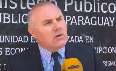 Oficializan denuncia contra Rivas en la Unidad Anticorrupción