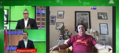 Deportes NPY en exclusiva con el Nino Arrúa