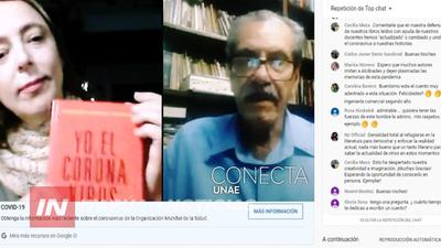 CON MÁS DE 700 VISITAS UNAE PROPICIÓ LA PRESENTACIÓN VIRTUAL DE LIBRO