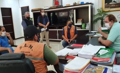 Gobernación y SEN coordina tareas para entrega y distribución de kits