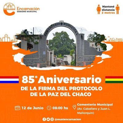 Celebrarán 85° aniversario de Protocolo de la Paz del Chaco