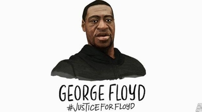 HOY / Una persona desconocida registra el nombre de George Floyd para cine y TV