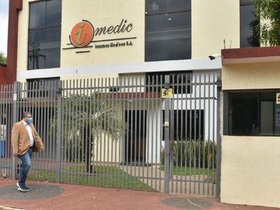 Salud dispone el cierre temporal de Imedic SA