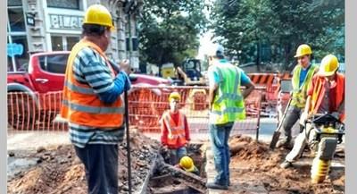 A tener cuidado: trabajos de alcantarillado sanitario previstos desde el lunes, en Asunción