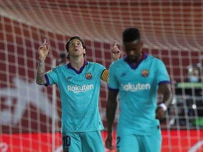 Messi regresó hecho una bestia
