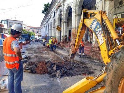 Desde el lunes prevén trabajos de alcantarillado en Asunción