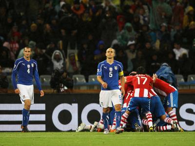 Reviví el gol de Antolín Alcaraz ante Italia