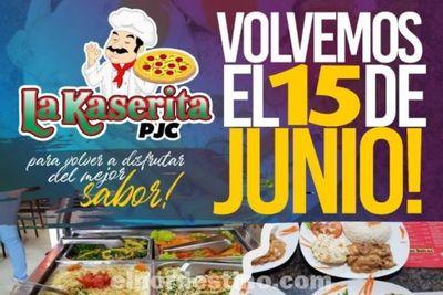 Vuelven los almuerzos frescos, sanos y ricos a tan sólo diez mil guaraníes en La Kaserita de Pedro Juan Caballero