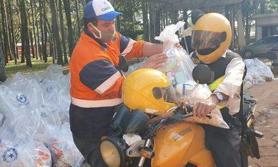 Entregan 2.000 kits de alimentos para  trabajadores del volante de C. del Este – Diario TNPRESS
