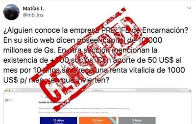 HOY / Caso Prelife: empresa acusada de esquema piramidal promovió amparo para censurar tweets, denuncian