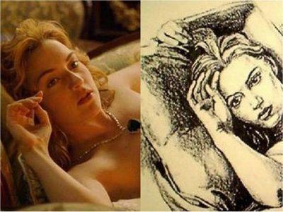 Dan a conocer al verdadero autor del retrato de Rose en Titanic