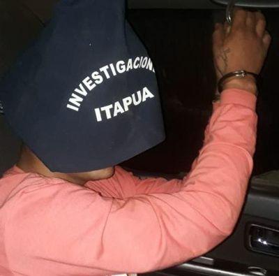 Buscado por homicidio de una despensera fue detenido en Itapúa Poty