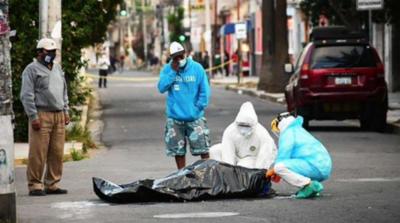 HOY / No encuentran lugar en los hospitales y caen muertos en la vía pública