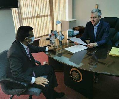 Romero Roa se reúne con presidente de JEM a la espera de resolución