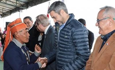 Presidente entregará hoy viviendas sociales a comunidades indígenas del Chaco