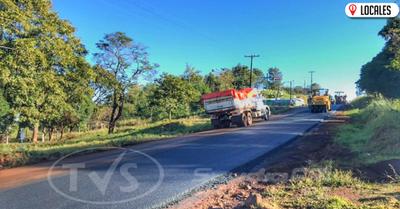 En Itapúa Poty acabará la época de usar tractores para salir por falta de caminos