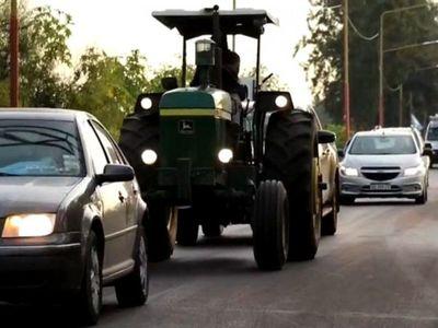 En caravanas repudian expropiaciónde agroexportadora en Argentina