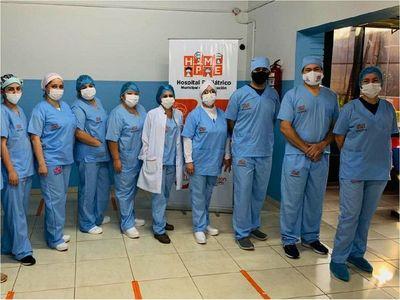 Encarnación: Entregan  a hospitales equipos de bioseguridad