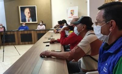 Gobernador presentará al presidente pedido de trabajadores del volante