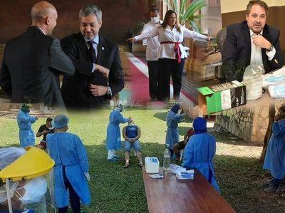 Cien días de lucha contra el coronavirus... y la corrupción