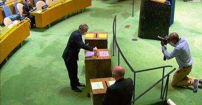 Paraguay ejercerá vicepresidencia en asamblea de la ONU