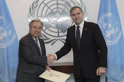 Paraguái ohupyty vicepresidencia Asamblea General ONU-pe