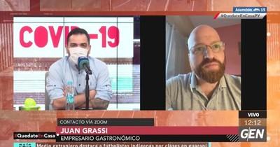 """Juan Grassi: """"Es una persecución contra quienes osamos denunciar la corrupción y la impunidad"""""""