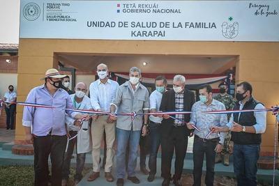 Gobierno habilita 4 nuevas Unidades de Salud Familiar en San Pedro