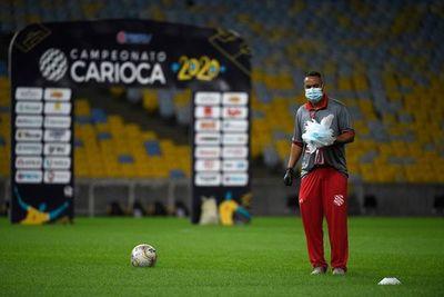 Un Maracaná vacío y con medidas de seguridad: las fotos del retorno del torneo Carioca