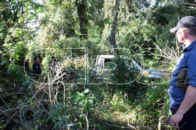 """Ubican en zona boscosa del Parque Nacional San Rafael la camioneta del agricultor """"raptado"""""""