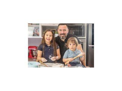 Sebastián Alonso Ochipinti, un papá apasionado por la cocina