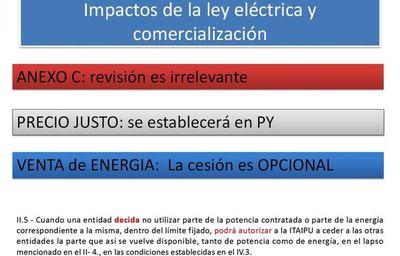 La ley ayudaría a exportar energía, según proyectista