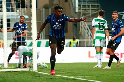 Zapata lidera la goleada del Atalanta ante el Sassuolo
