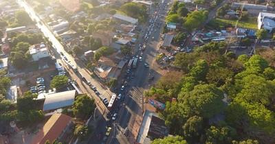 Este lunes inician los desvíos en la complicada zona de Tres Bocas