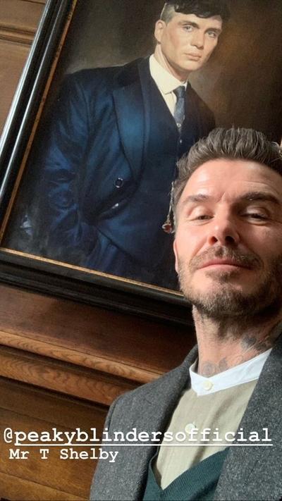¿David Beckham se une a los Peaky Blinders?