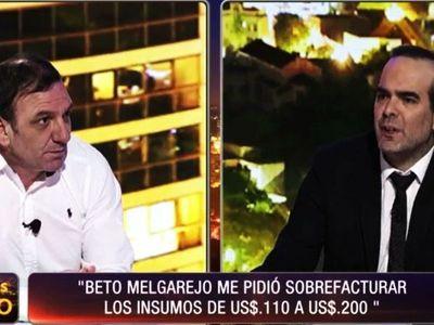 """Pidal: """"Melgarejo y Silva son los cerebros de compras desde China"""""""