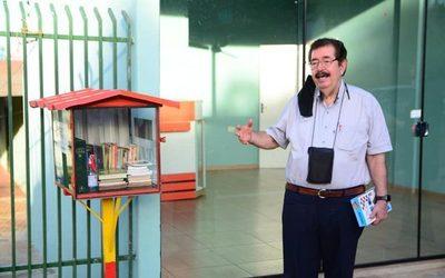 Habilitan bibliotecas callejeras en CDE