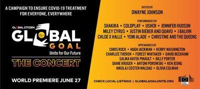 Coldplay se suma al mega concierto virtual benéfico «Global Goal: Unite for Our Future»,